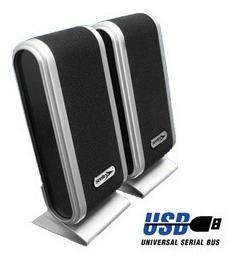 parlantes 2.0 para pc o notebook usb stereo