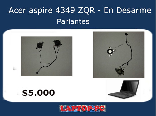 parlantes acer aspire 4349 zqr