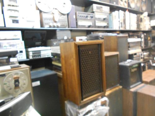 parlantes akai sw150 japan p/valvular gtia acutron-audio