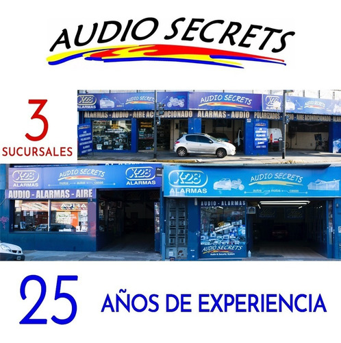 parlantes alpine 4'' de 2 vias sps-410 - audio secrets