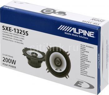 parlantes alpine sxe-1325s coaxiales 5.25 35w rms