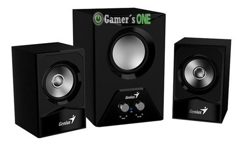 parlantes altavoces genius sw 2.1 385 15w pc laptop tablet