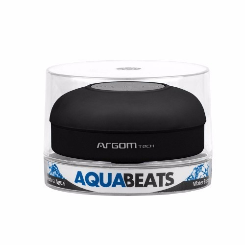 parlantes argom aquabeats inalambrico bt arg-sp-2801bk