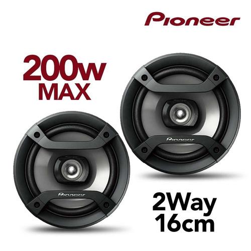 parlantes auto pioneer 200w 2 vias 16cm