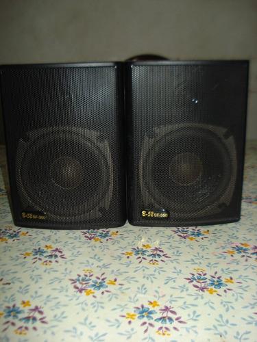 parlantes bafles b52-sf350 musica funcional excelente sonido