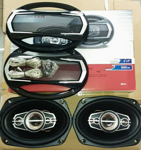 parlantes better  carro 6x9 480 watts /tortas carro 480