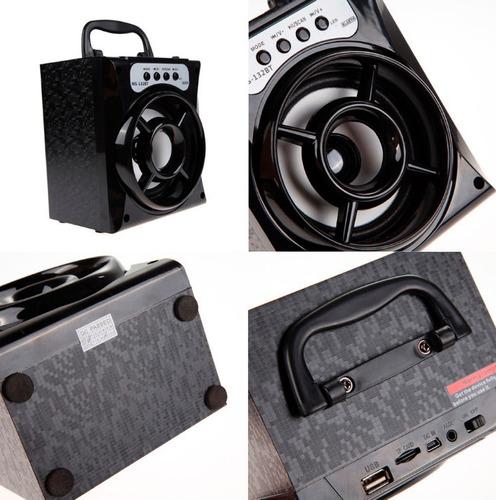 parlantes bluetooth radio/usb/aux stereo
