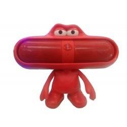 parlantes bluetooth usb micro sd radio fm mp3 recargable