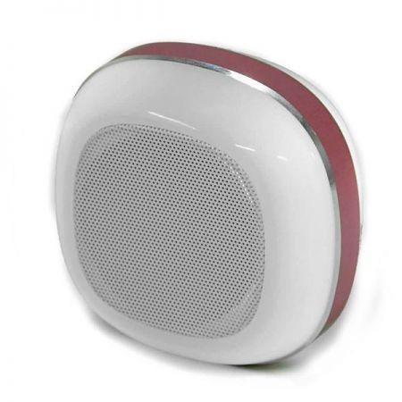 parlantes bluetooth wireless radio mp3 para celular rosa