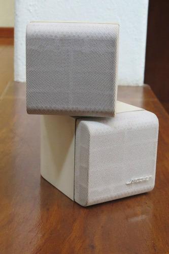 parlantes bose acoustimass direccional doble cubo