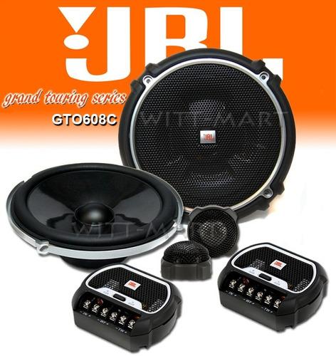 parlantes componentes jbl gto608c 16cm  70w rms  nuevos