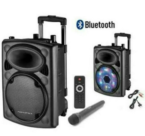 parlantes con luces,bluetooth,usb, mic.
