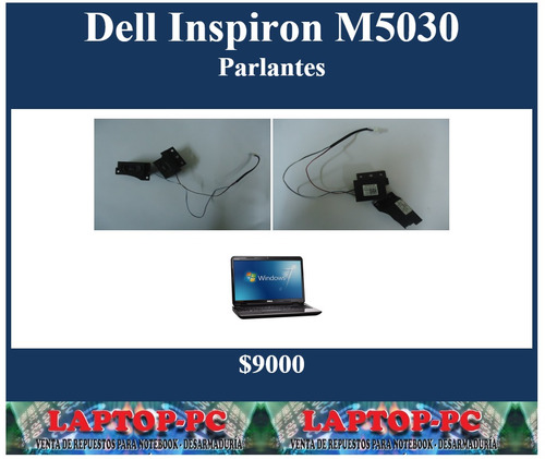 parlantes dell inspiron m5030