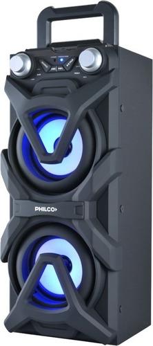 parlantes djp10 500w luces bluetooth philco