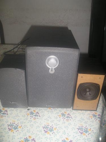 parlantes edifier mod r133 para tv,pc,iphon, celu etc 2.1