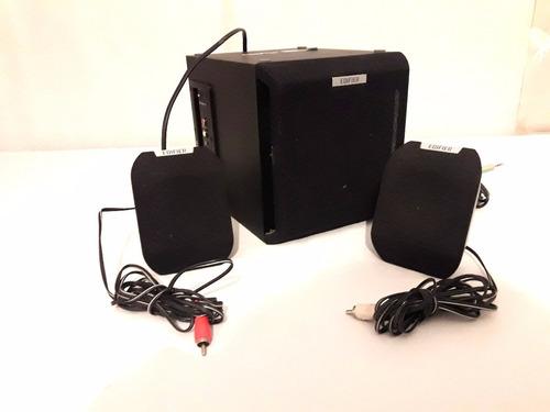 parlantes edifier x100 2.1 excelnte estado ideal computadora