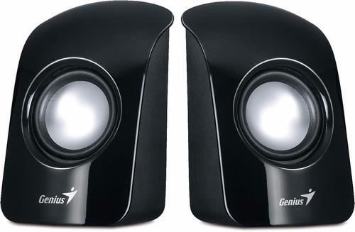 parlantes estéreo usb genius pc sp-u115