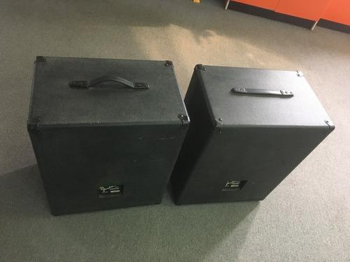 parlantes fender originales usa 100w 8ohm modelo 2815 x par