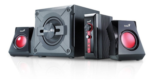 parlantes genius gamer gx gaming scorpions sw-g2.1 1250w