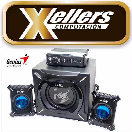 parlantes genius gx sw-g2.1 2000 45w subwoofer gamer pc tv