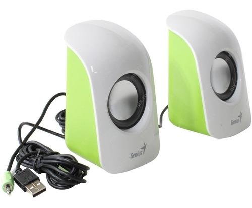 parlantes genius  para pc/ notebook  usb+plug 3.5 - sp-u115