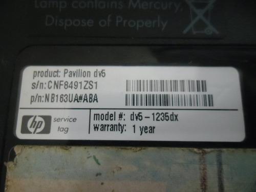 parlantes hp dv5 1235dx serie 1000