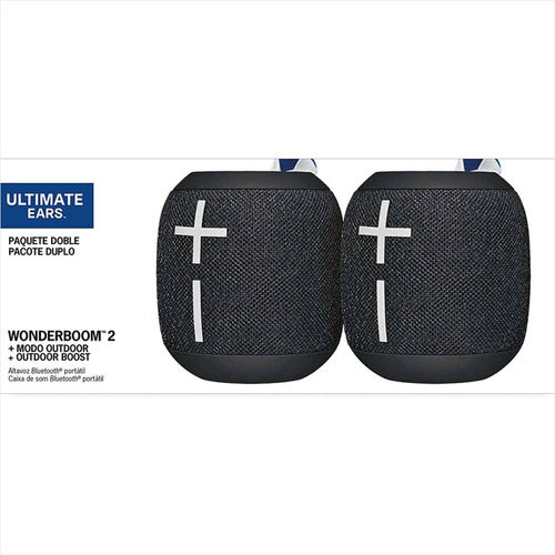 parlantes impermeables, combo x 2 ultimate ears wonderboom 2
