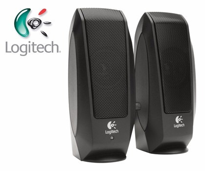 parlantes logitech s120 2.0 multimedia (gadroves)
