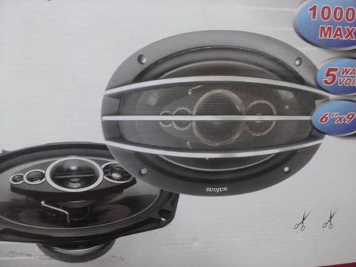 parlantes ovalados 1000w 6x9 súperpotentes nuevos garantía