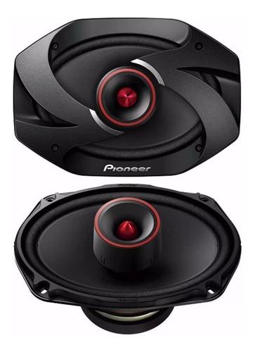 parlantes para carro pioneer ts 6900 pro 600w 2 vías 6x9