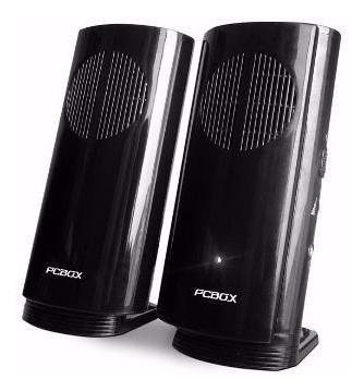 parlantes para pc pcb-s100 pc box