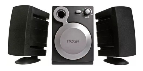 parlantes para pc tv notebook 2.1 aux noga net -802 slot one