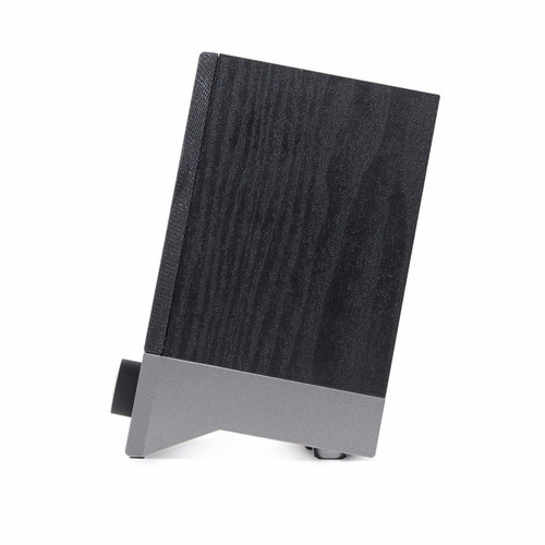 parlantes pc edifier r19u 2.0 miniplug 3.5 aux usb 4w madera