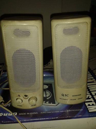 parlantes pc qic modelo 8860 para aprovechar oferta!!
