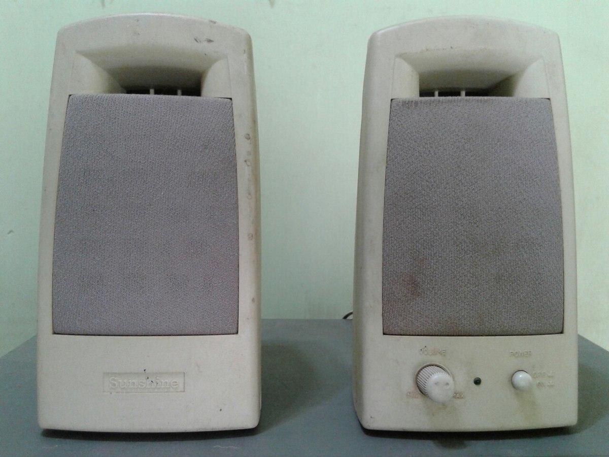 Parlantes Pc Sunshine Hi Fi Speaker Systems S Adaptador Dc 100 System Cargando Zoom