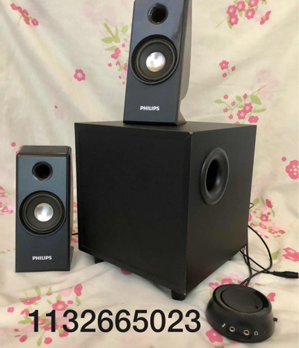 parlantes philips 2.1