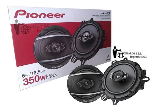 parlantes pioneer 6.5 pulgadas ts-a1680f 350w 4vias 1680