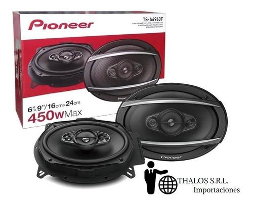 parlantes pioneer 6x9 ts-a6960f 450w 4 vias 6960 linea 2019