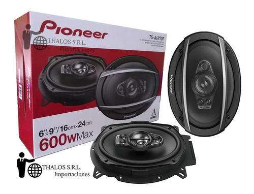 parlantes pioneer 6x9 ts-a6970f 600w 6970 5 vias thalos