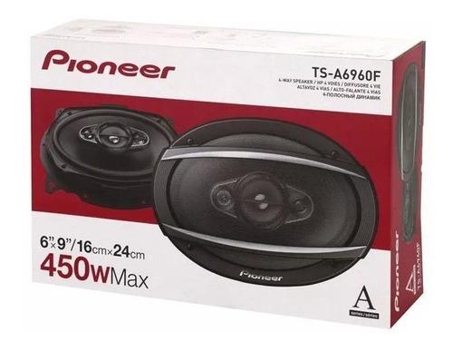 parlantes pioneer auto ts-a6960f  4 vías 6x9 450w
