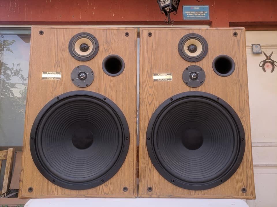 Parlantes Pioneer Cs G405 Woofer De 15 - $ 230.000 en Mercado Libre