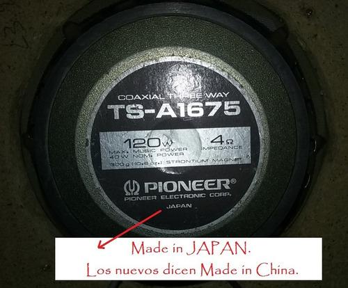 parlantes pioneer japonéses tsa1675 bafles caja fusagasugá