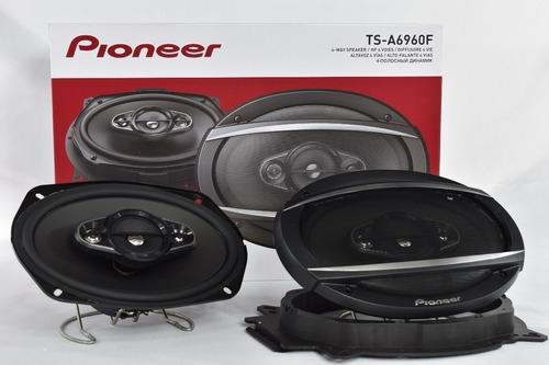 parlantes pioneer ts-a6960f 450w 90w rms 4 vias ovalados 6x9