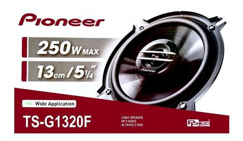 parlantes pioneer ts-g1320f 250w 35w rms 2 vias 5 pulgadas