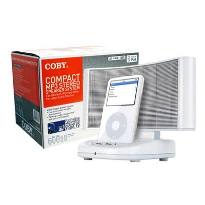 parlantes p/ipod coby coby