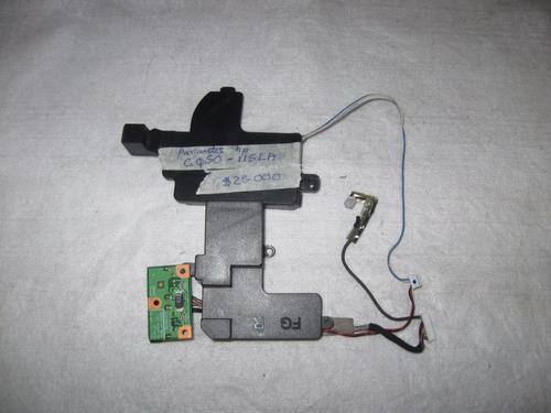parlantes portatil hp presario cq50 115la
