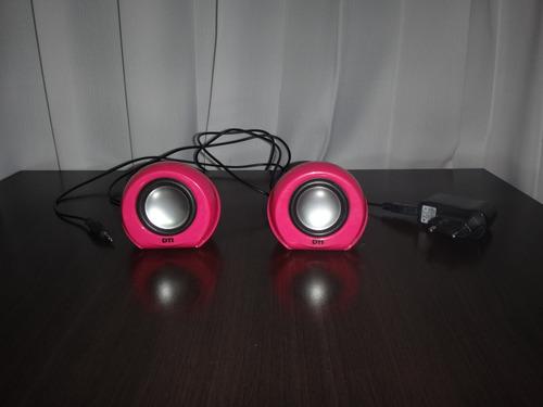 parlantes rosados