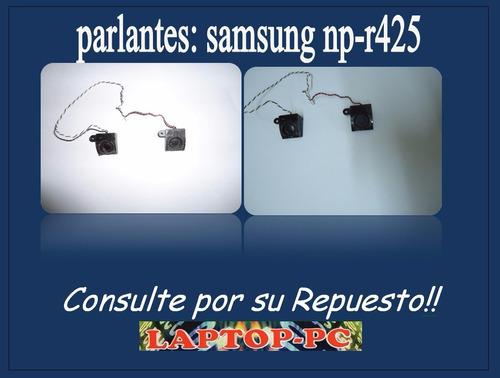 parlantes samsung np-r425