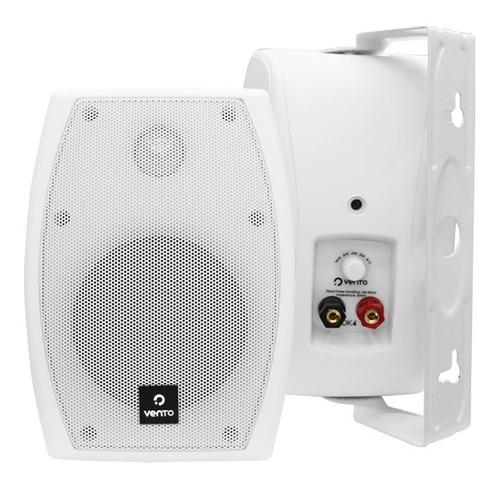 parlantes sonido ambiental de 4  para intemperie dk4