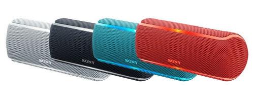 parlantes sony bluetooth wireless mp3 resistente agua negro